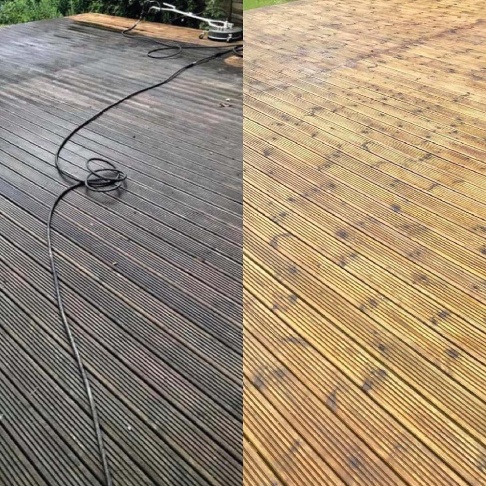 decking cleaning company